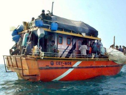 Bateau de migrants Sri Lankais